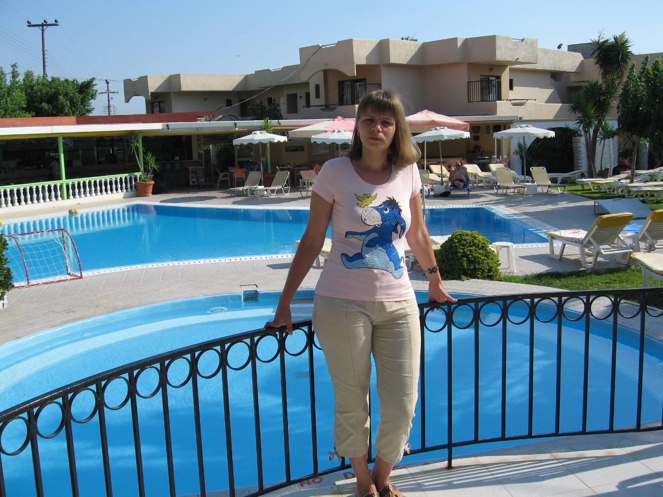 Родос отель venezia бассейн