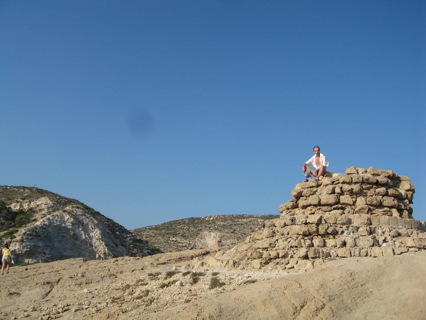 Родос развалины монастыря