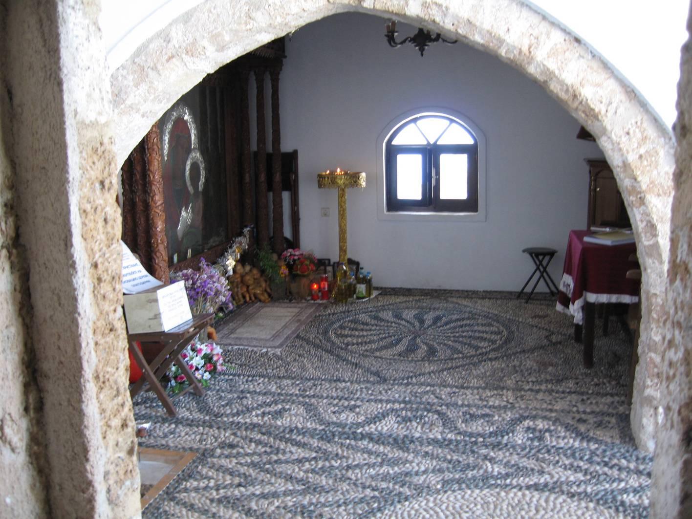 Родос церковь Цампики