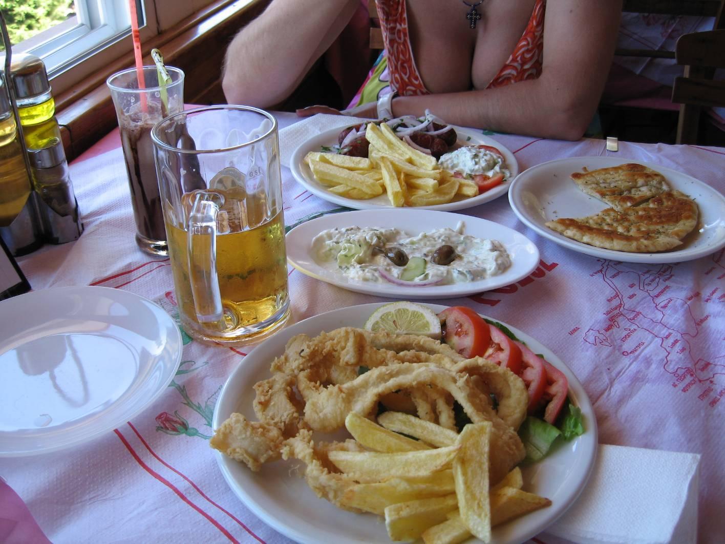 Родос греческая тарелка